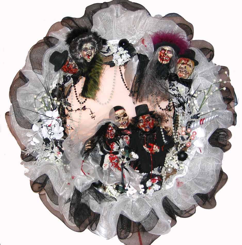 Michael Myers, Halloween Wreaths And Mesh Wreaths On Pinterest